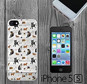 Cats on Wood Custom made Case/Cover/Skin FOR iPhone 5/5s