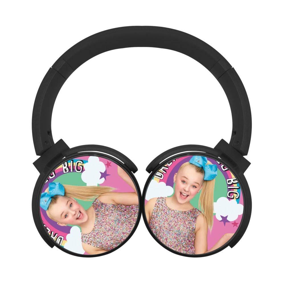YOYOears Jo-Jo My Story Si-wa Wireless Over Ear Headphones Bluetooth Headset Lightweight Foldable HiFi Earphone Active Noise Cancelling Black