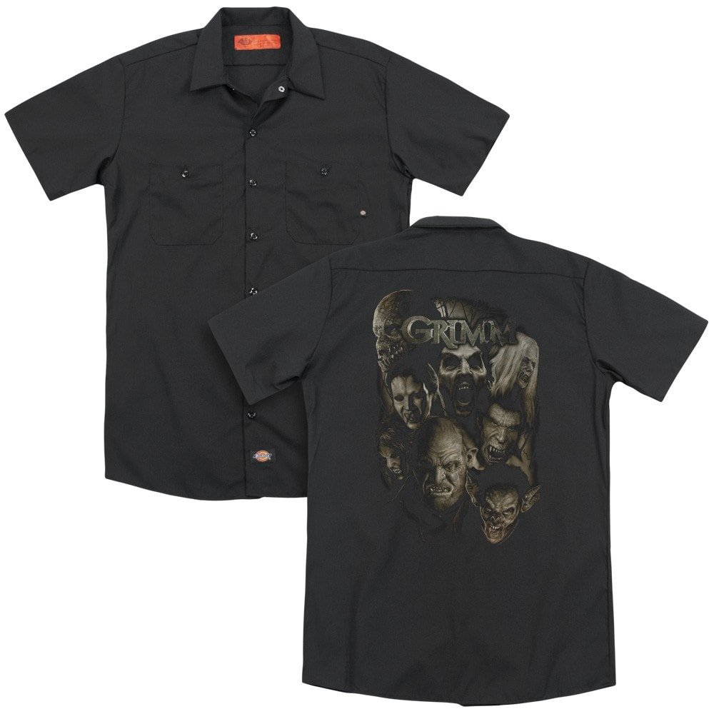 Grimm Wesen Adult Work Shirt