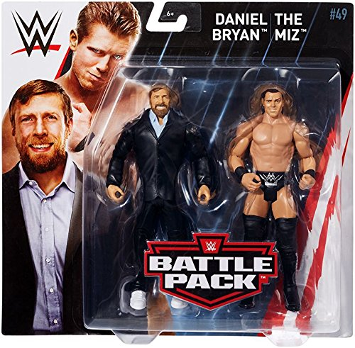 - WWE Series # 49 Daniel Bryan & The Miz Figures, 2 Pack