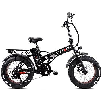 "DME Bike - Fat-bike bicicleta eléctrica plegable con pedaleo asistido, 20"","