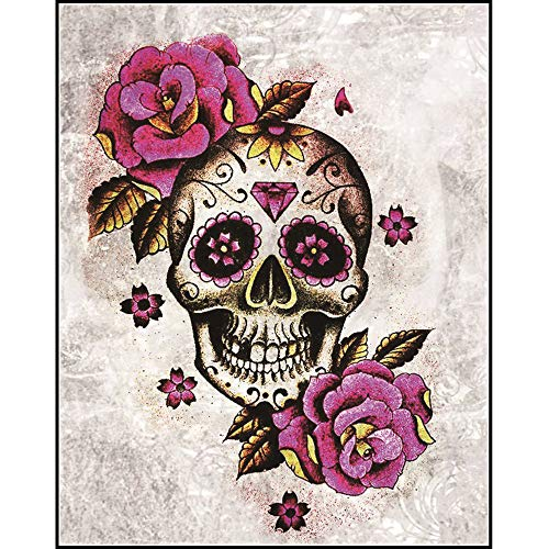 DIY 5D Diamond Painting Kit, Halloween Scary Skull