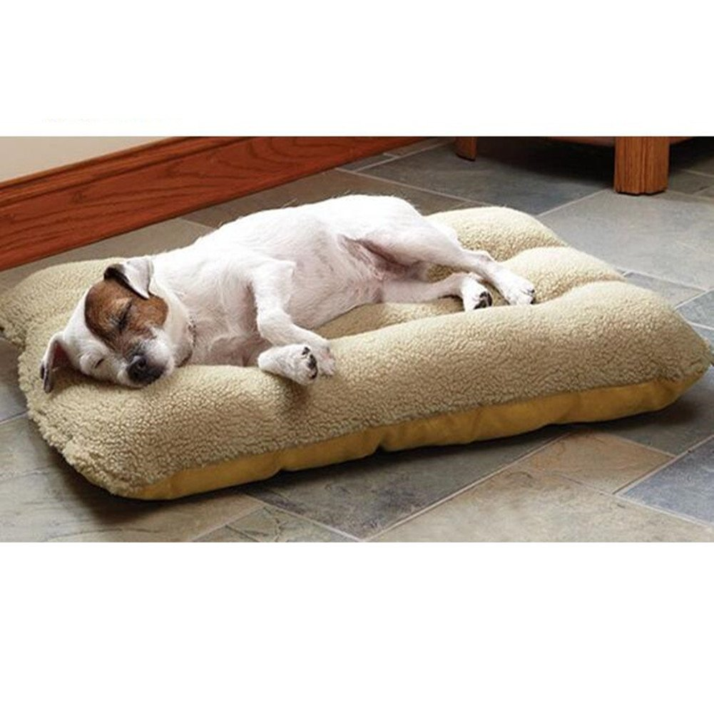 Pet Bed Dog Hug Super Soft Plush Solid Pet Sleeper Washable