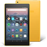 """All-New Fire HD 8 Tablet with Alexa, 8"""" HD Display, 16 GB, Yellow - with Special Offers"""