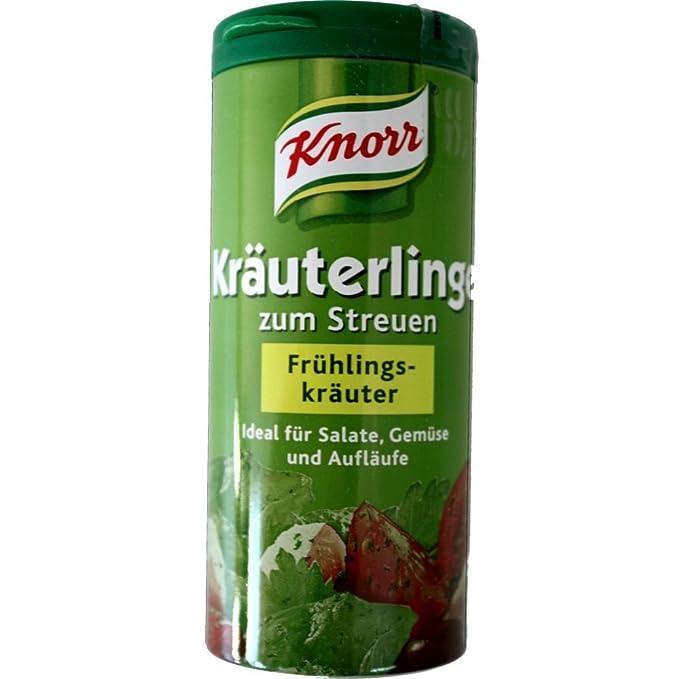 Knorr KrÀuterlinge FrÃŒhlingskrÀuter (Spring Herb Seasoning Mix), 60g: Amazon.es: Alimentación y bebidas