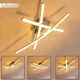 Schwenkbare LED Deckenleuchte Kreative Lampe Fr Die Decke Mit Verstellbaren Lichtelementen Wohnzimmerlampe Fest