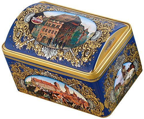 Wicklein Gold Elisen Musical Nürnberger Lebkuchen Tin, 10.6 Ounce