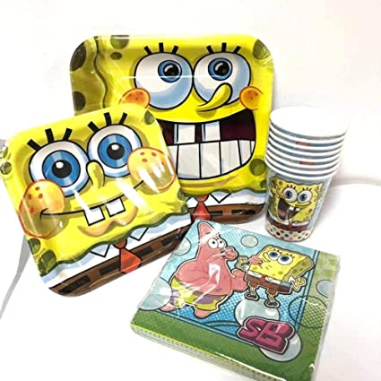 Amazon.com: Nickelodeon Bob Esponja squartpant Value Pack ...