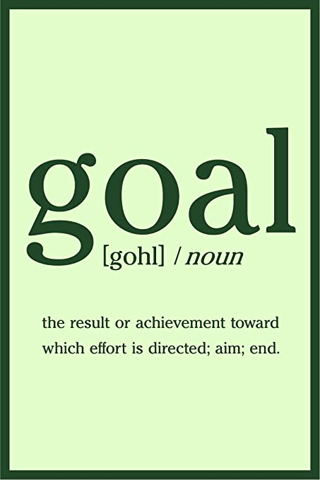 Amazon com: JSC501 Definition Of Goal Dictionary Style