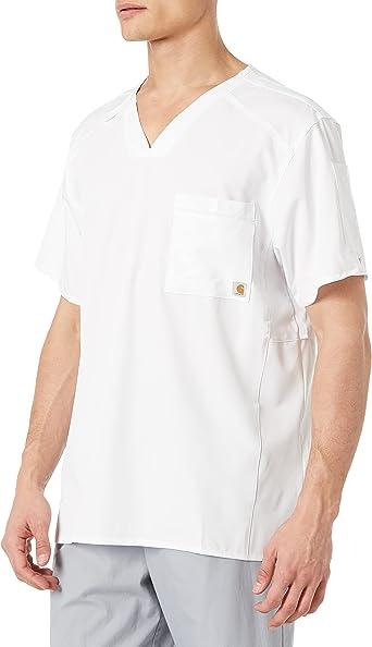 Carhartt Mens Slim Fit V-neck Top Camisa quirúrgica Hombre