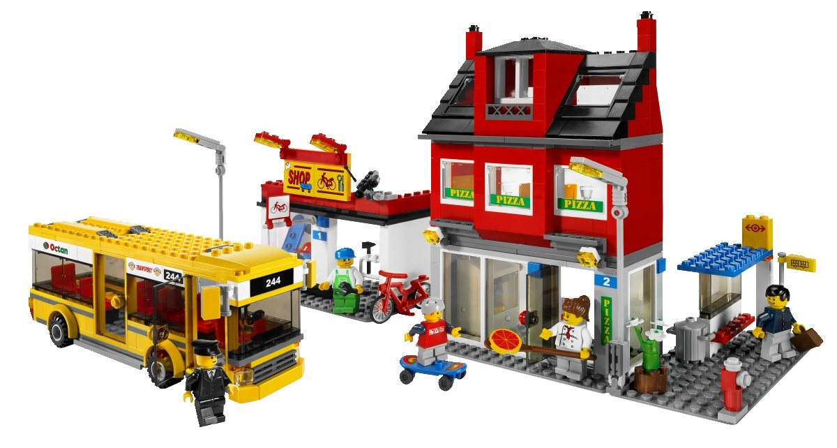7641 4540487 LEGO City Corner