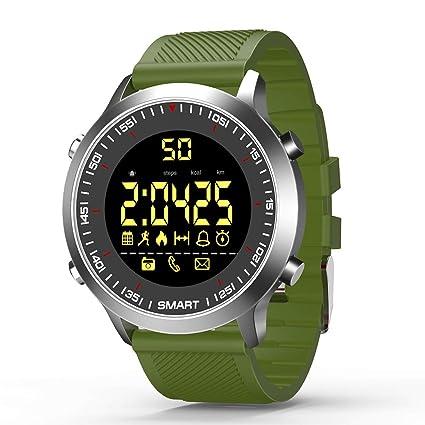 SHFY Reloj Inteligente, rastreador de Fitness, Relojes Inteligentes, rastreador de Actividad, Bluetooth con podómetro, Compatible con iPhone, Samsung, ...