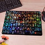 11.4''x 9.8'' Dota 2 Anti-Slip Rectangle Computer Mouse Pad Customized Supported Rubber Pad by Lee Boutique TH