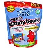 Yummy Earth Organic Gummy Bears Family Size .9 oz 10-Count
