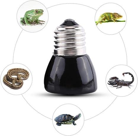 de l/ámpara de cer/ámica t/érmica de emisores Bulb Pet brooder Calefacci/ón l/ámpara bombilla para mascotas Reptil Filfeel t/érmica