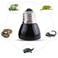 Filfeel Lámparas de Calor,Bombilla de Cerámica de la Lámpara del Calentador de la Criadora del Animal Doméstico del Bulbo del Emisor de Calor para el Reptil del Animal Doméstico(110V-50W)