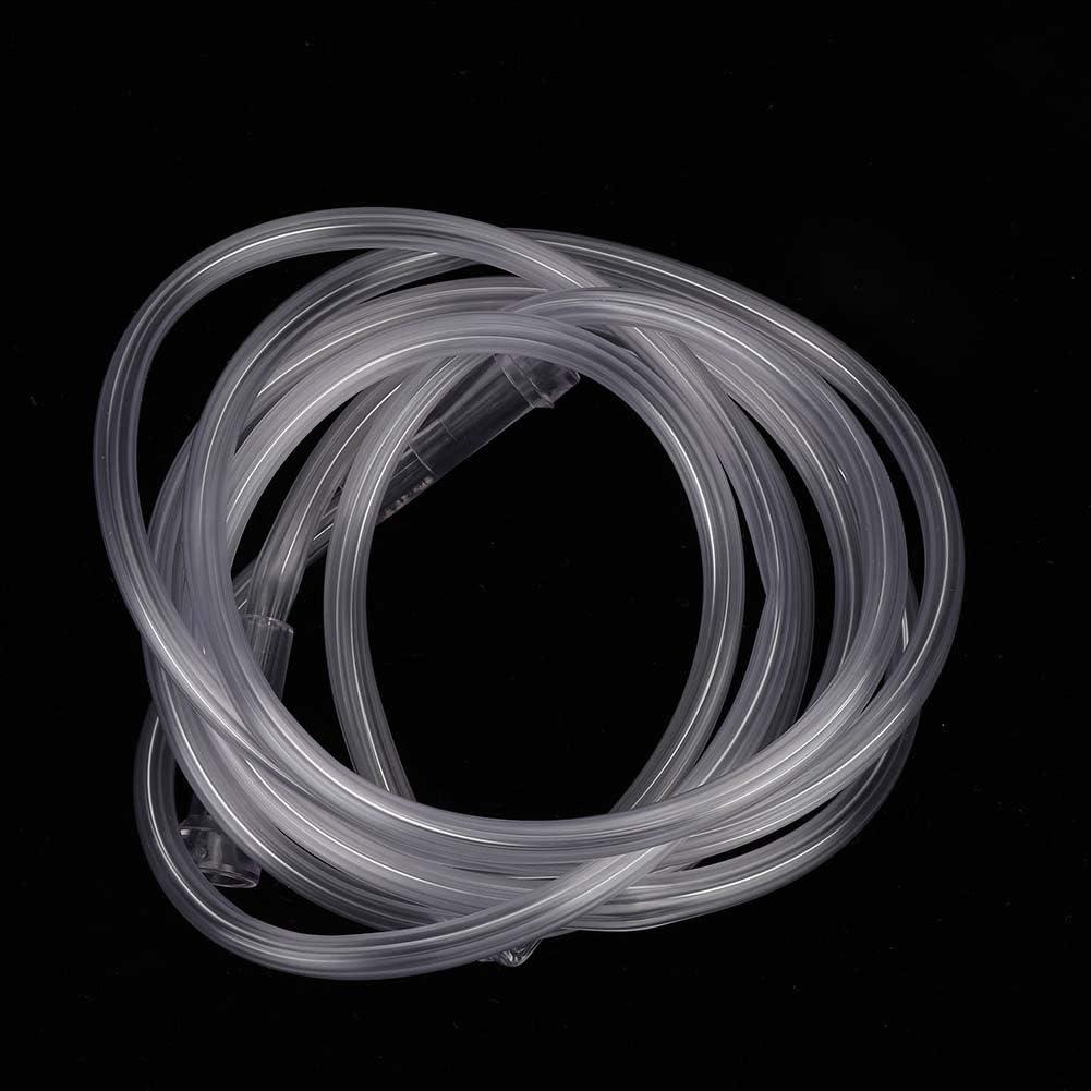 Taidda Adult Clear PVC Gesichtsform Einfach Praktisch mit Sauerstoffschlauch Reservoir Bag