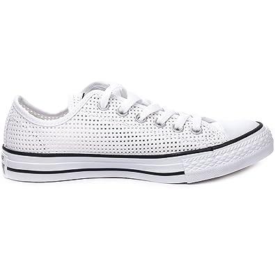 ConverseConverse Damen Sneakers Chuck Taylor All Star C551625 - Zapatillas mujer , color Blanco, talla 37 EU