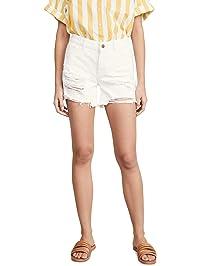 DL1961 Women's Karlie Boyfriend Shorts
