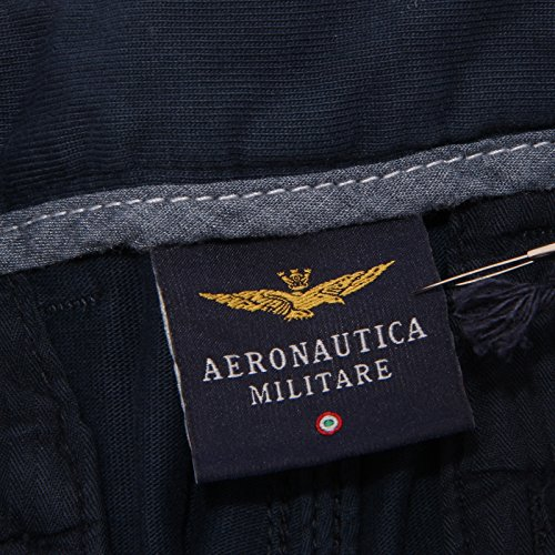 Short Cotone Kid Militare 0133t Shorts Pant Aeronautica Bimbo Blu 6wHYF7gq