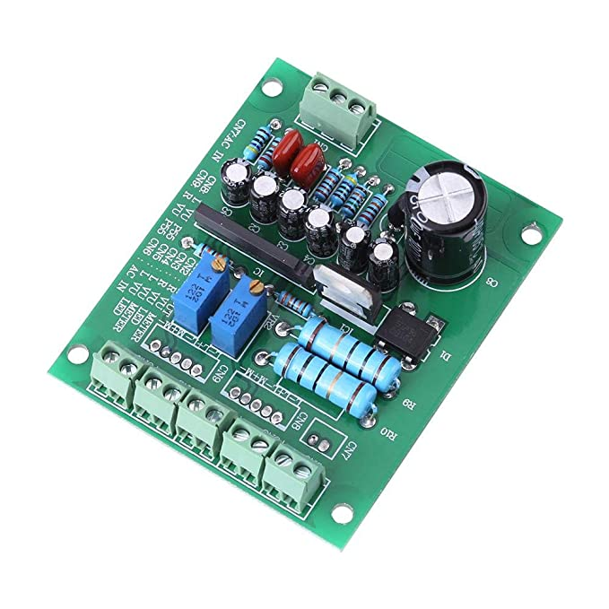Treiberplatine 2x St/ück VU-Meter Warm Reclight-Aufnahme Audiopegelverst/ärker mit Treiberplatine