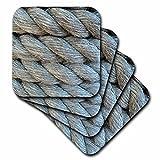 Florene Nautical Lines Coaster, Soft, Set of 8