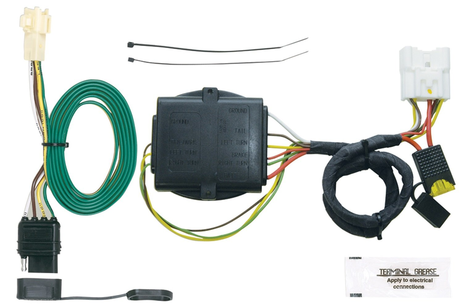 Hopkins 41845 Plug-In Simple Vehicle to Trailer Wiring Kit Hopkins Towing Solution