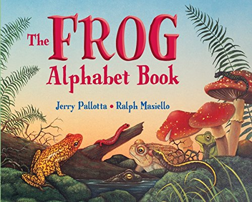 The Frog Alphabet Book (Jerry Pallotta's Alphabet Books)