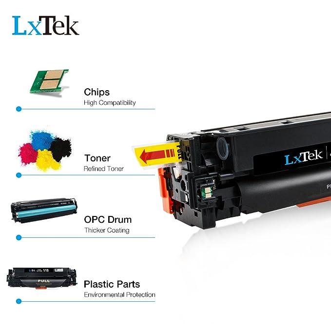 Amazon.com: lxtek Canon 118 Compatible cartucho de tóner ...