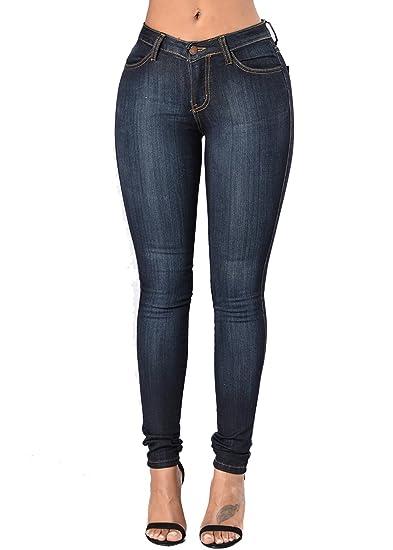 cecf0c59176a AKEWEI Women s Skinny Jean Leggings