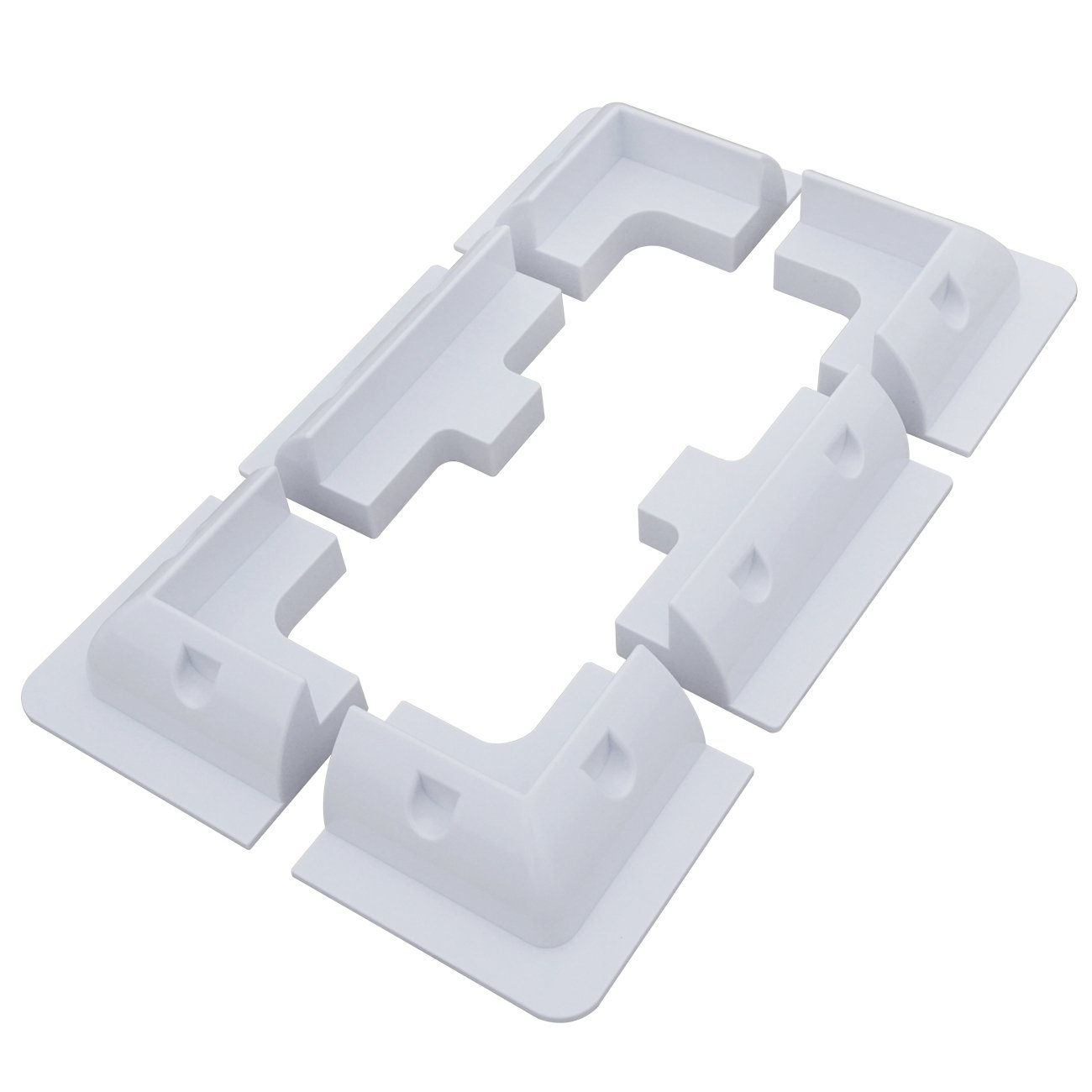 ECO-WORTHY Soporte para las esquinas del panel solar y soporte lateral