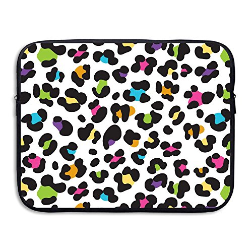 Praise Store Colorful Cheetah Leopard Print Computer Liner Laptop Bag 13 Inch Tablet Case Computer Accessories For Macbook Air - Cheetah Colorful