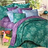 Rain Forest Green - Comforter - Queen by All Seasons Bedding