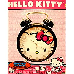 Hello Kitty Jumbo Twin Bell Clock Age 8+