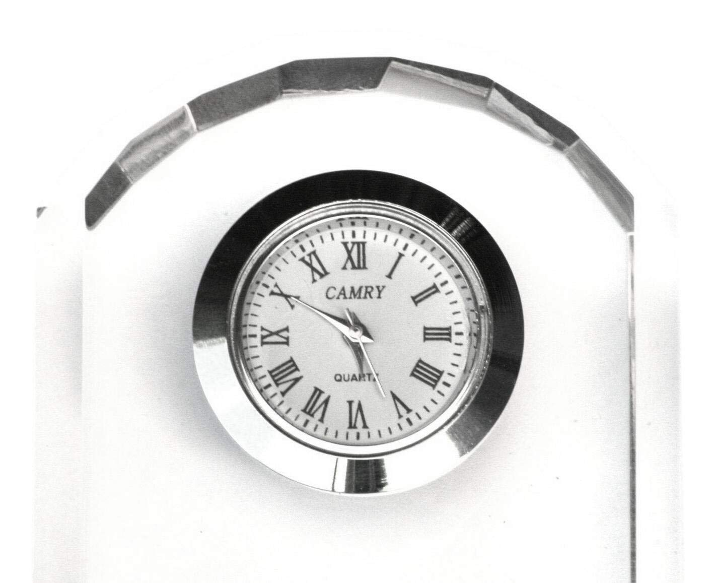 Gamekeepers Cottage gifts Argyll /& Sutherland Highlanders Glass Mantel Clock Bedside Or Desktop Military Gift ME27