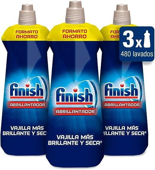 Finish Triplo Abrillantador Lavavajillas - Pack de 3 unidades x ...