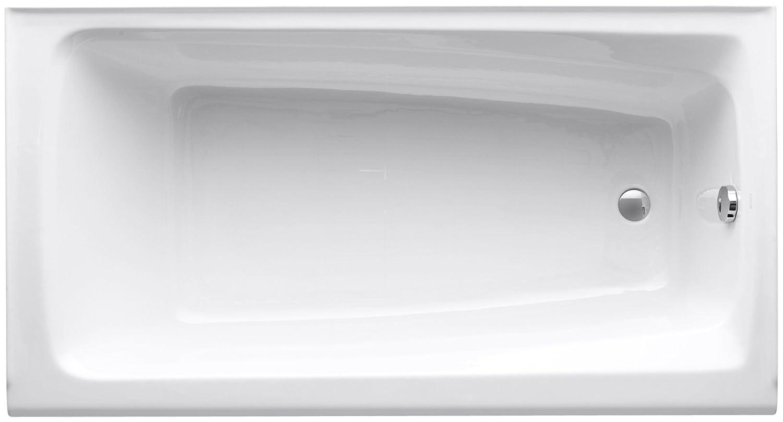 KOHLER K-506-0 Mendota Bath, White - Freestanding Bathtubs - Amazon.com