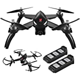 Amazingbuy MJX Bugs 5W B5W [2 Batteries Included] 1080p Camera Drone With Long Battery Life - Long Range Drone With GPS, Altitude Hold, Headless mode and Return to Home