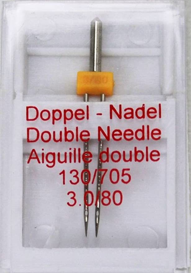 Zwilling aguja doble aguja Agujas para Máquinas de Coser plana ...
