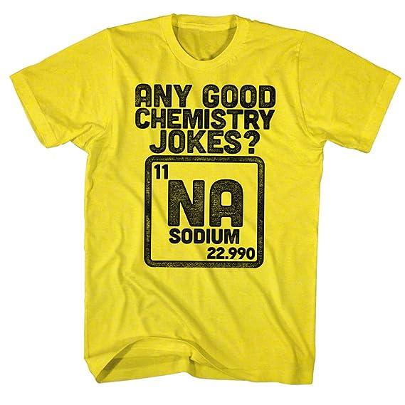 American Classics Broma de la química camiseta para hombre X-Grande Amarillo: Amazon.es: Ropa y accesorios