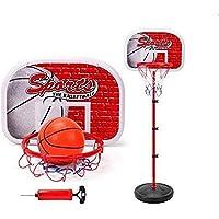 Mumoo Bear Outdoor Fun & Sports Activity Game Mini Indoor Adjustable Basketball Stand Basket Holder Hoop Goal Child Kids…