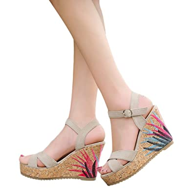 Zapatos De Cinturones con Hebilla De Moda Cu/ñAs Romanas para Mujer