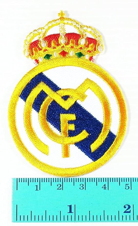 La Liga de la liga real Madrid Football Club Logo chaqueta camiseta parche coser hierro en