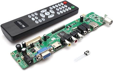 V29 Universal LCD TV Controller Board TV Motherboard VGA//HDMI//AV//TV//USB