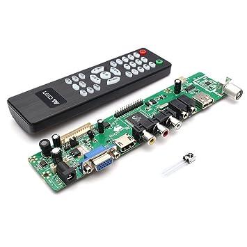 3535e8265cf C.J. SHOP V29 Universal LCD Controller Board TV Motherboard VGA HDMI AV TV