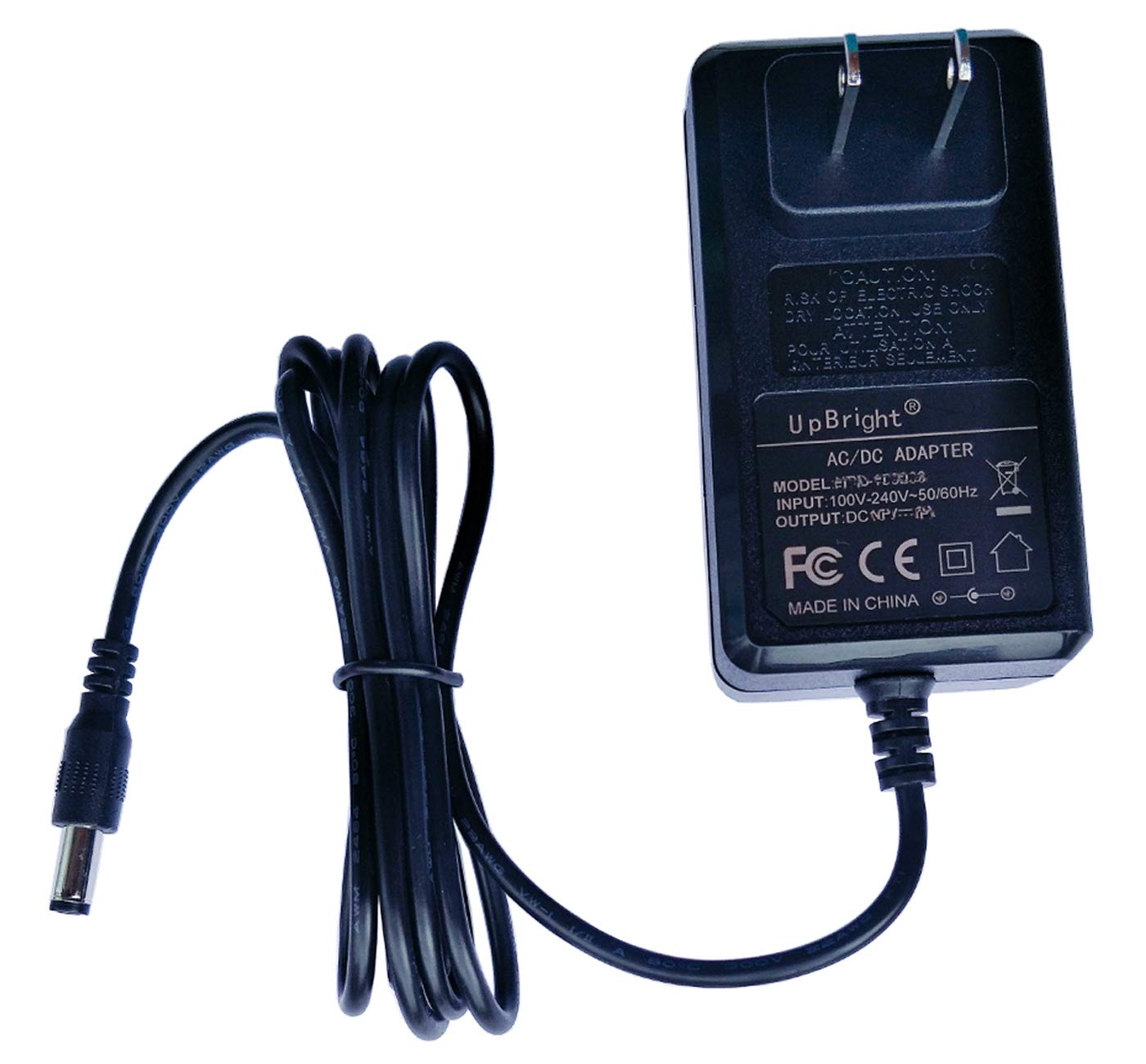 UpBright AC/DC Adapter Compatible with Shark DK33-248080H-U Rocket Pet Pro IZ162H 26 IZ162H26 IX140 IX141 IZ140 IZ142 UZ145 IZ140C IZ141C IZ162HC XBCHGX140 XSBT620 Stick Vacuum Cleaner Power Charger