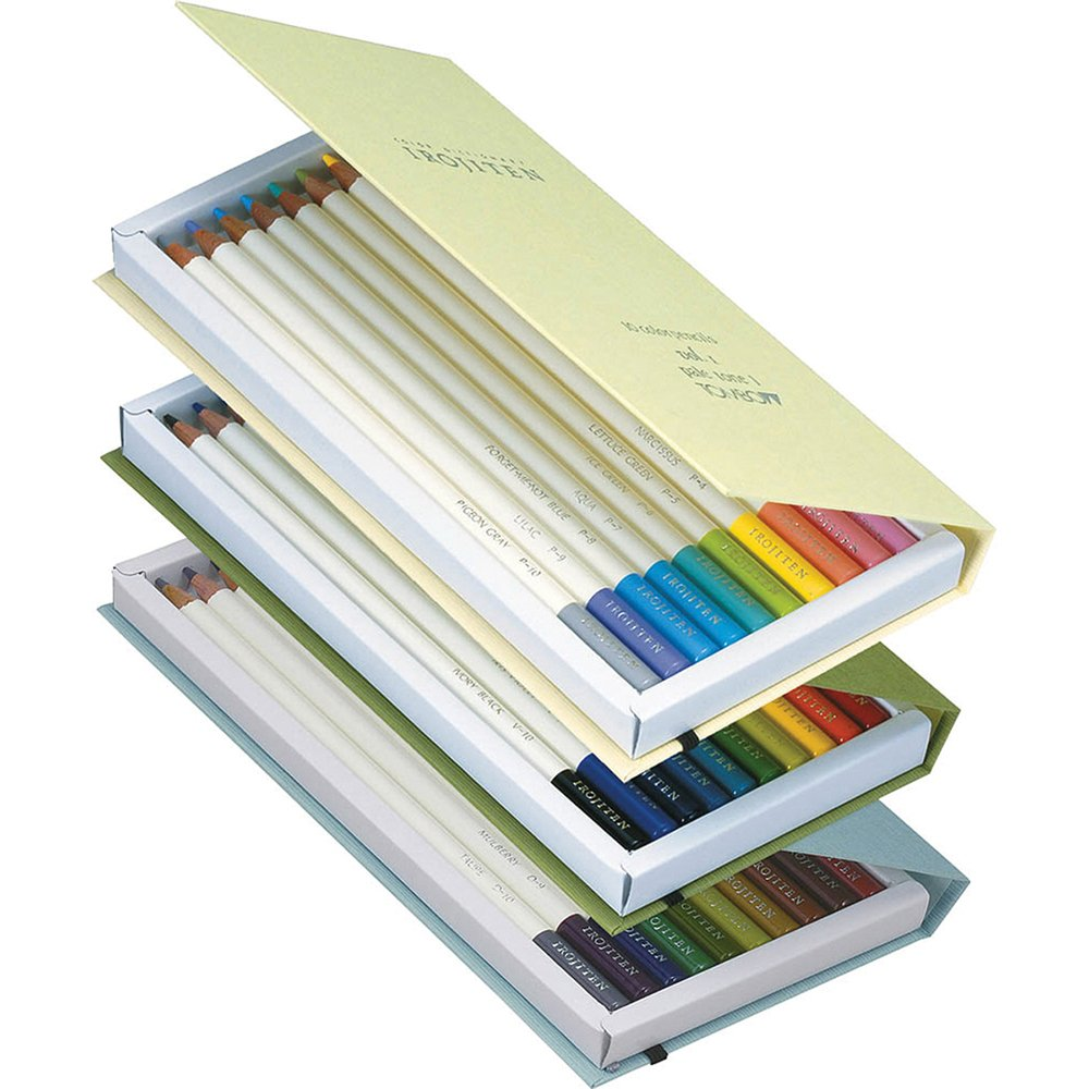 Tombow Irojiten Colored Pencil Dictonary Set, Rainforest, 30-Pack by Tombow