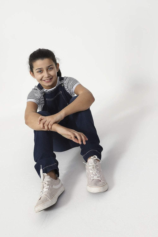 Wash Clothing Company Girls Slim Fit Indigo Denim Bib-Overalls Age 4-14 Years Kids Dungarees