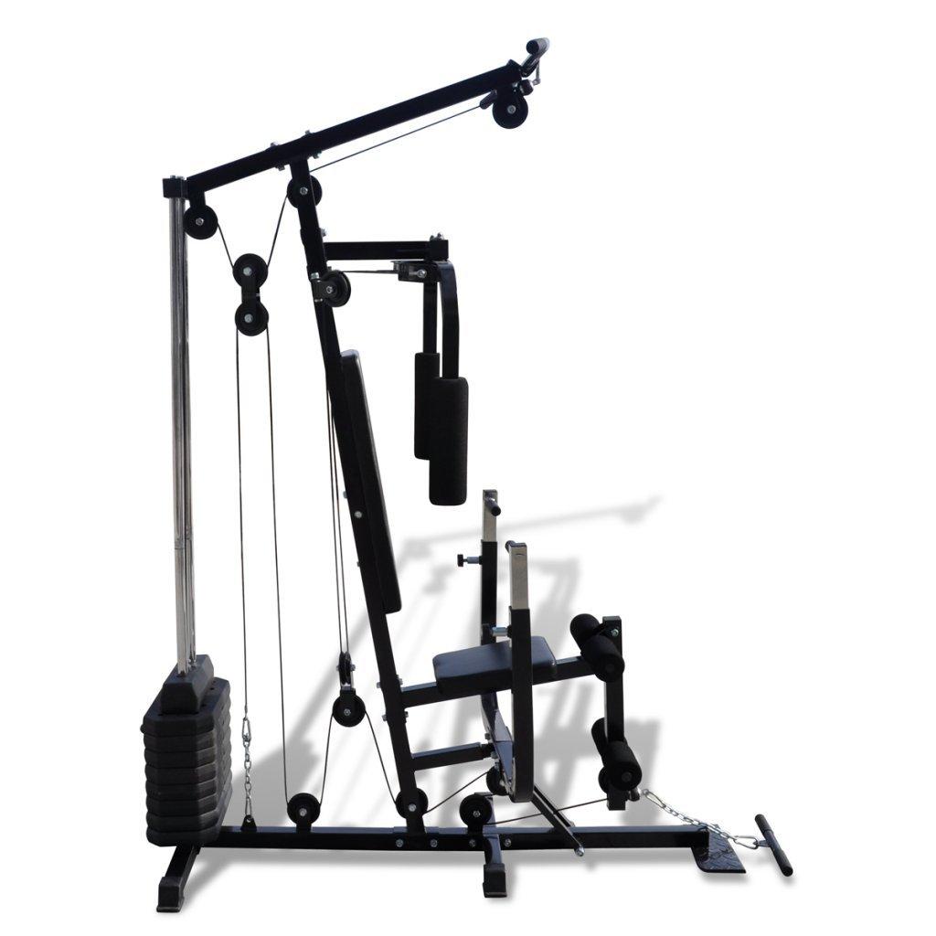 vidaXL Máquina de Fitness Multi Utensilio Gimnasio Estación de ...