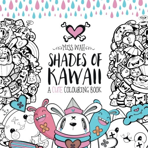 Shades Kawaii Cute Colouring Book product image